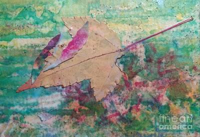 Wall Art - Painting - Falling Leaves by Debra Link