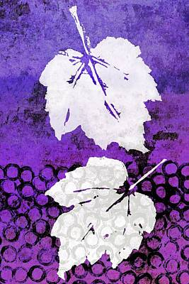 Mixed Media - Falling Leaves by Patricia Strand
