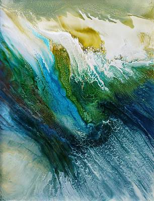 Painting - Falling by Lia Melia