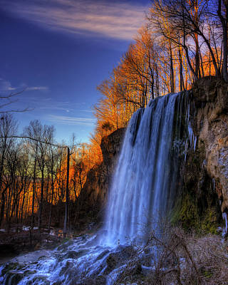 Photograph - Falling Spring Falls by Steve Hurt