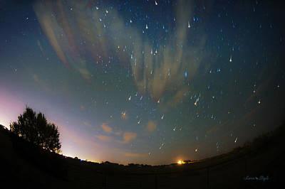 Photograph - Falling Stars by Karen Slagle