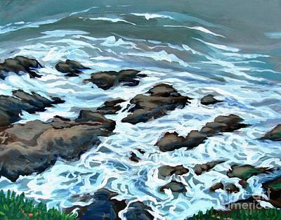 Falling Tide Original by Vanessa Hadady BFA MA