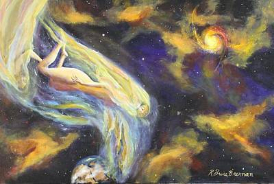 Urantia Painting - Falling To Earth by Bruce Brennan
