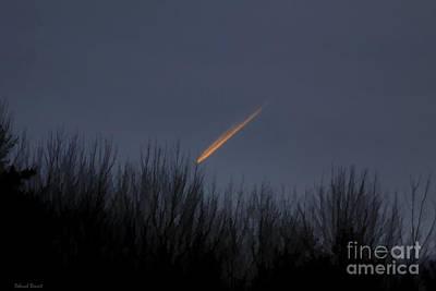 Morning Star Mixed Media - Falling To Earth by Deborah Benoit