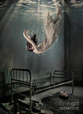 Falling To Sleep Art Print by Juli Scalzi