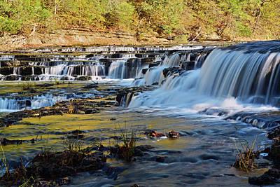 Photograph - Falling Water Cascade by Ben Prepelka