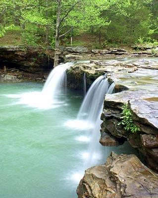 Photograph - Falling Water Falls 5 by Marty Koch