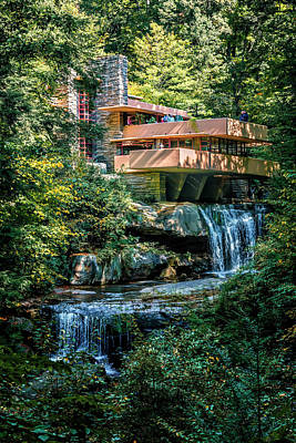Photograph - Falling Water Flw House_img_9242 by Greg Kluempers