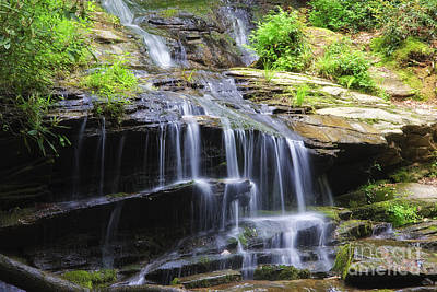 Photograph - Falling Water by Jill Lang