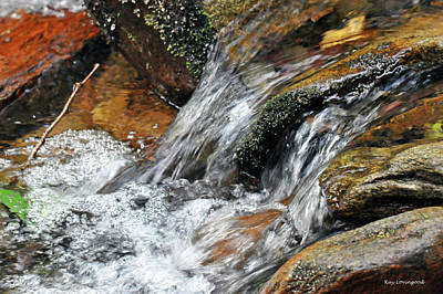 Photograph - Falling Water by Kay Lovingood