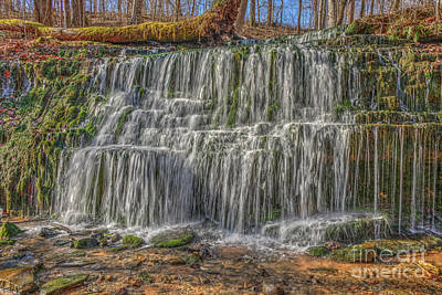 Art Print featuring the photograph Falling Water by Wanda Krack