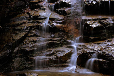 Photograph - Falling Waters 2 by Sherman Perry