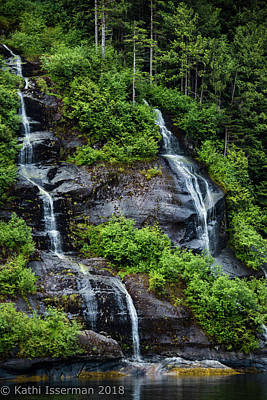 Photograph - Falling Waters I by Kathi Isserman