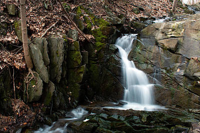 Photograph - Falling Waters In February II by Jeff Severson