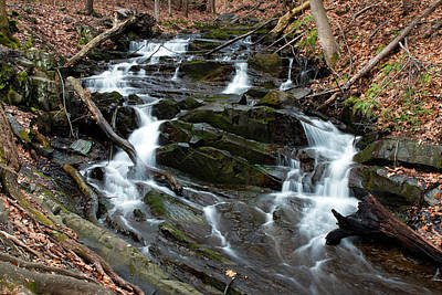 Photograph - Falling Waters In February by Jeff Severson