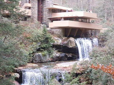 Falling Waters In November Art Print by James Guentner