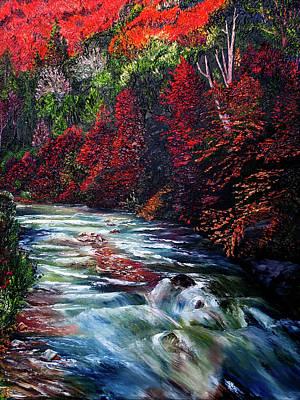 Falling Waters Art Print