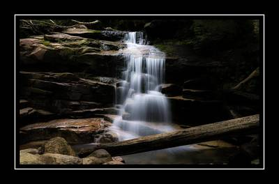 Photograph - Falling Waters Trail by Sherman Perry