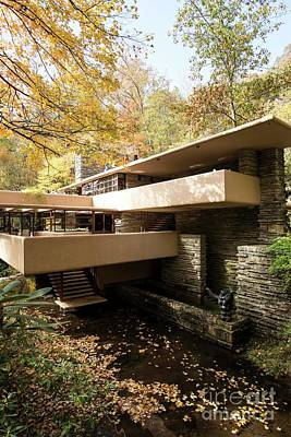 Photograph - Fallingwater - 8 by David Bearden