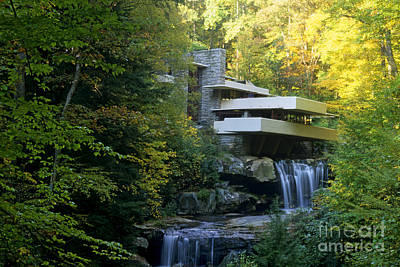 Waterfall Photograph - Fallingwater by Bill Bachmann