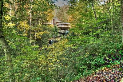 Photograph - Fallingwater - Fall 3 by David Bearden