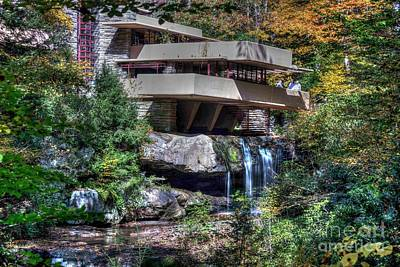 Photograph - Fallingwater Fall - 8 by David Bearden