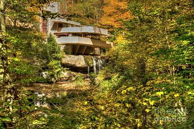 Photograph - Fallingwater Fall - 9 by David Bearden