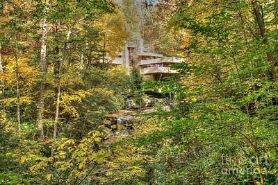 Photograph - Fallingwater - Fall by David Bearden