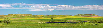 Photograph - Fallon County Panorama by Todd Klassy