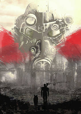 Digital Art - Fallout 4  by IamLoudness Studio