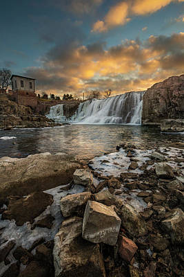 Photograph - Falls  by Aaron J Groen