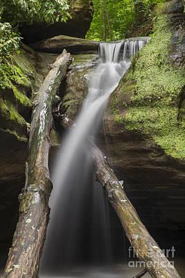 Starved Rock Wall Art - Photograph - Falls At Kaskaskia Canyon by Twenty Two North Photography