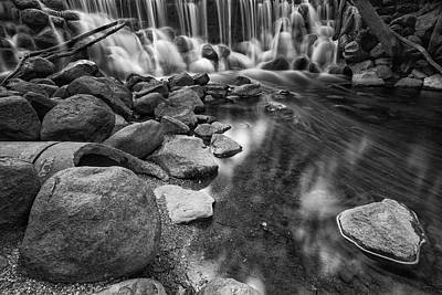 Photograph - Falls At Whitnall Park by Jonah Anderson