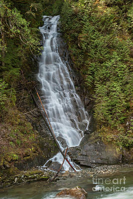 Photograph - Falls Beside by Rod Wiens