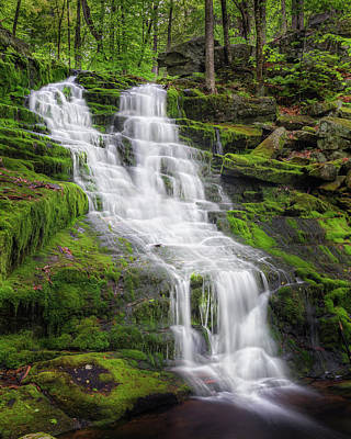 White Mountains Photograph - Falls Brook by Bill Wakeley