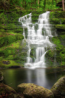 Photograph - Falls Brook Falls by Bill Wakeley