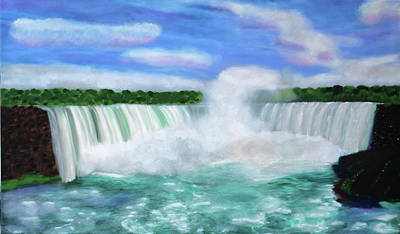 Painting - Falls Canadian Style by Deborah Boyd