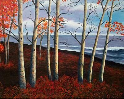 Fall's Charm Original by Susan DeLain