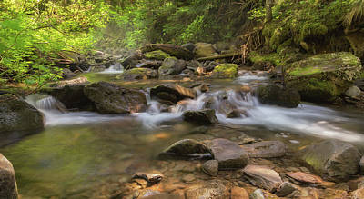 Photograph - Falls Creek by Angie Vogel