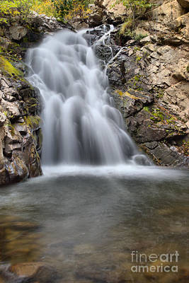 Photograph - Falls Creek Falls Into The Pool by Adam Jewell