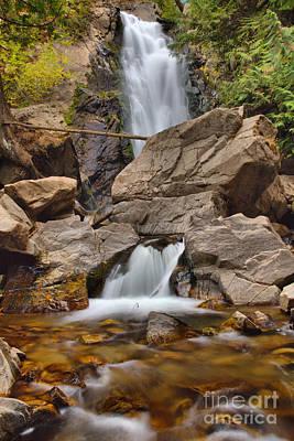 Photograph - Falls Creek Falls Portrait by Adam Jewell