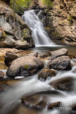Photograph - Falls Creek Falls Streams by Adam Jewell