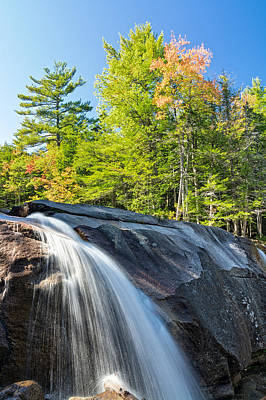 Photograph - Falls Diana's Baths Nh by Michael Hubley