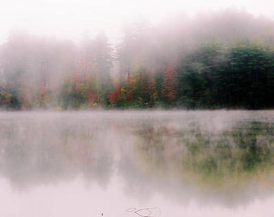 Photograph - Falls Foggy Mist by Sherman Perry