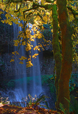 Falls In The Fall Art Print by Dale Stillman