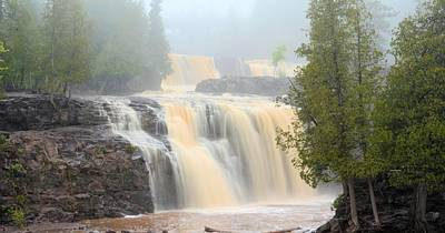 Photograph - Falls In The Mist by Bonfire Photography