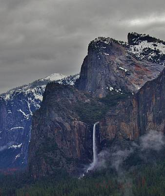 Photograph - Falls In Yosemite A by Phyllis Spoor