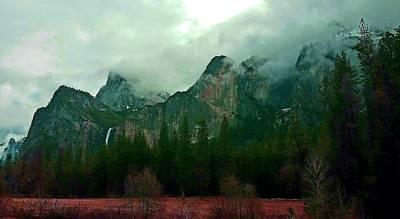 Photograph - Falls In Yosemite D by Phyllis Spoor