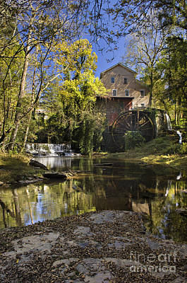 Historic Franklin Tennessee Photograph - Falls Mill - D009770 by Daniel Dempster