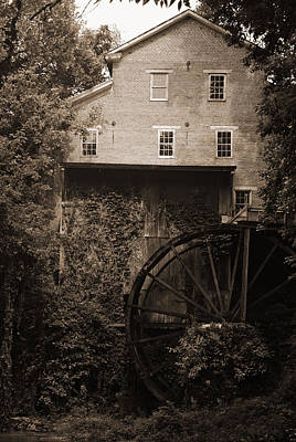Photograph - Fall's Mill by George Taylor